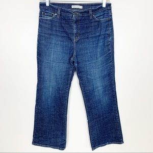 Levi's 512 Perfectly Slimming Boot Cut Blue Jeans